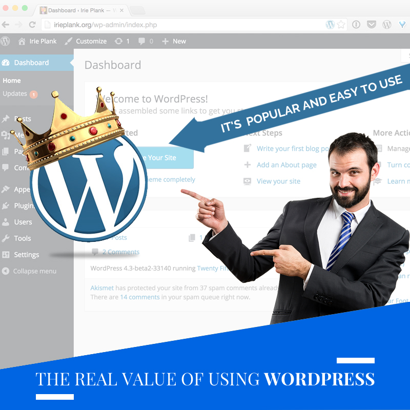 Website design: The Real Value Of Using WordPress