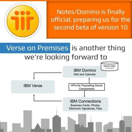 Notes/Domino is alive! Second beta of version 10 is imminent
