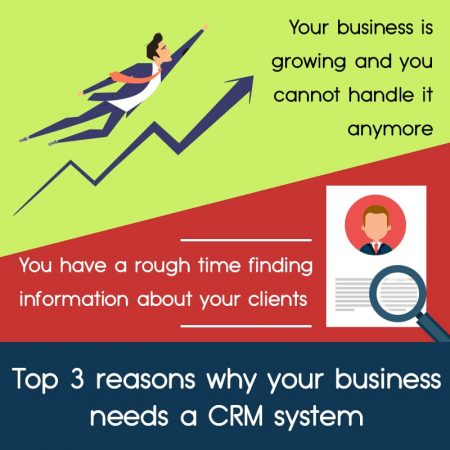 Top 3 Reasons Why Your Business Needs A CRM System